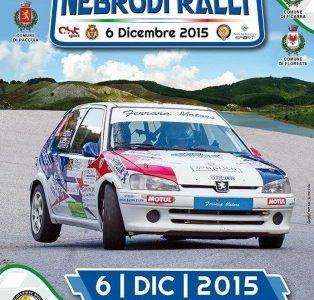 Castell'Umberto – Il 5 e 6 dicembre lo spettacolo del Nebrodi Rally