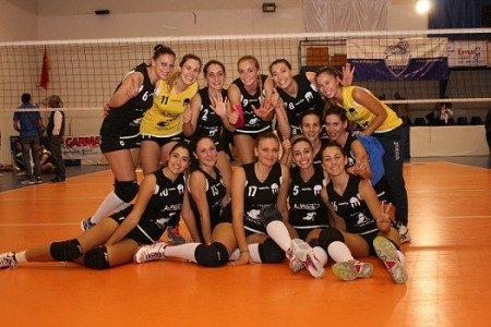 La All Work Saracena Volley,  batte la Nino Romano