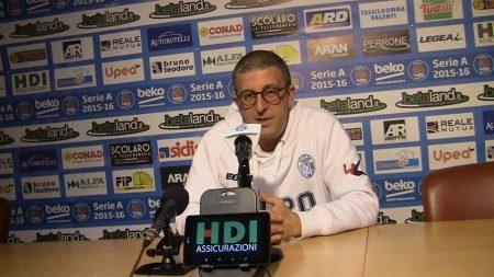 """Orlandina Basket : Griccioli """" Dobbiamo avere continuità di gioco"""""""