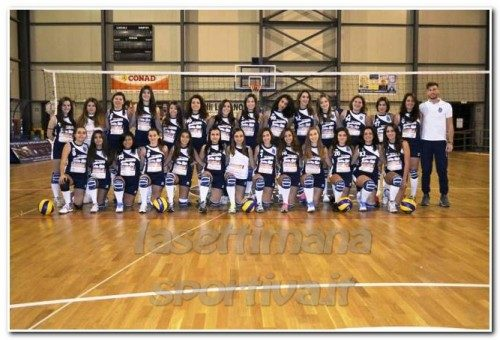 Torrenova –  Festa di Natale organizzata dall'Asd Torrenova Volley