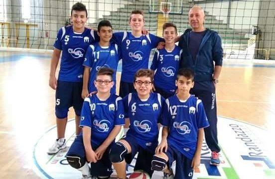 Vola l'Under 14 maschile della Saracena Volley