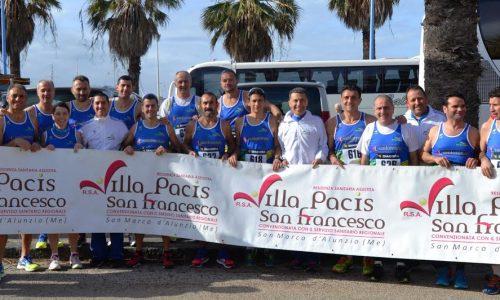 Agrigento – La 13^ Maratonina della Concordia, con gli atleti dell' Atletica Nebrodi