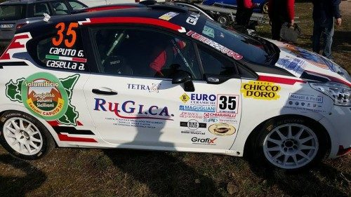 CST Sport brilla nei rally con i due equipaggi junior all'esordio stagionale