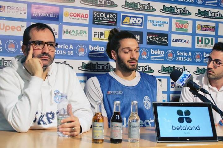 orlandina basket Coach Di Carlo  Sassari un esame di maturità