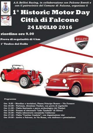 Falcone  1° Historic motor day dittà di Falcone