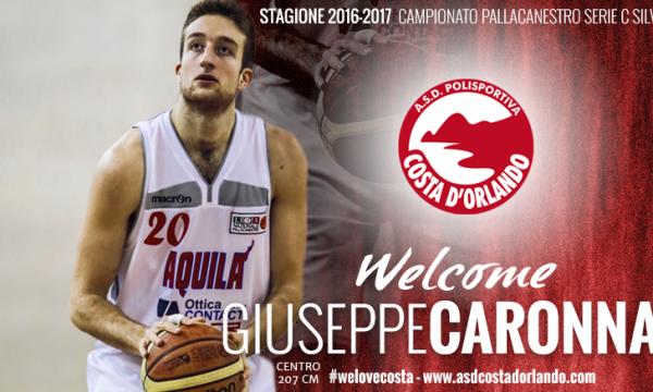 Nuovo arrivo alla Costa d'Orlando. Ha firmato Giuseppe Caronna ex Orlandina e Palermo