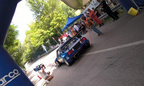 I portacolori CST Sport Rampanti in prova alle Svolte di Popoli