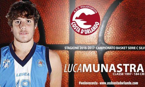 Asd Costa D'Orlando – Dall'Orlandina Basket arrivano Munastra e Gambardella