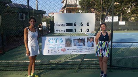 Tennis – La 40° edizione della Coppa Città di Brolo, va a Famulari e Taddei