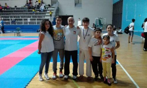 """Rocca di Caprileone – Il """"Master Karate Nebrodi"""" va a Roma per campionato nazionale"""