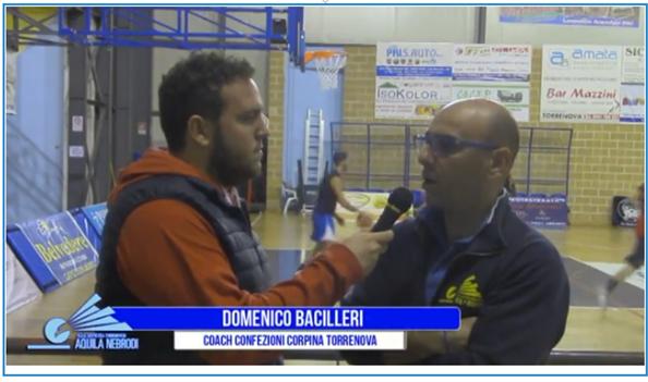 Cestistica Torrenovese – Coach Bacilleri fa un bilancio dopo le prime due giornate di campionato