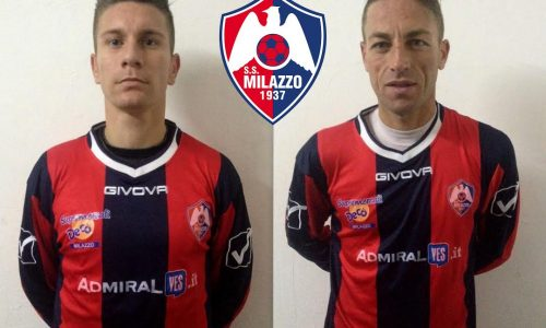 Milazzo – Arrivano il centrocampista Cordisco e il difensore Matinella