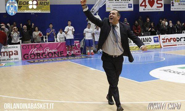 Orlandina Basket: Di Carlo: «Ad Avellino per dare continuità»