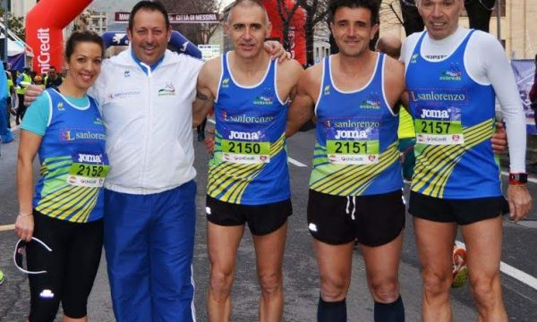 L'Atletica Nebrodi alla Maratona di Messina