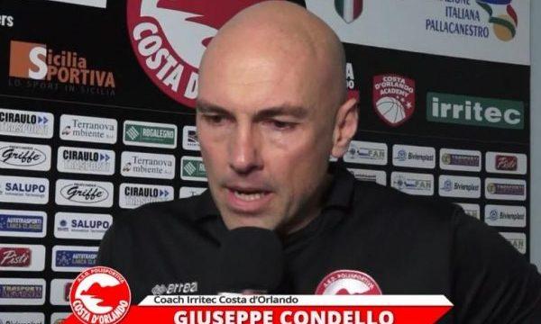 Costa d'Orlando – Coach Condello: «Vittoria sofferta, dobbiamo trovare nuove motivazioni»