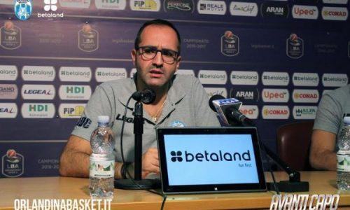 Orlandina – Di Carlo: «A Pesaro determinati per confermare il quinto posto»