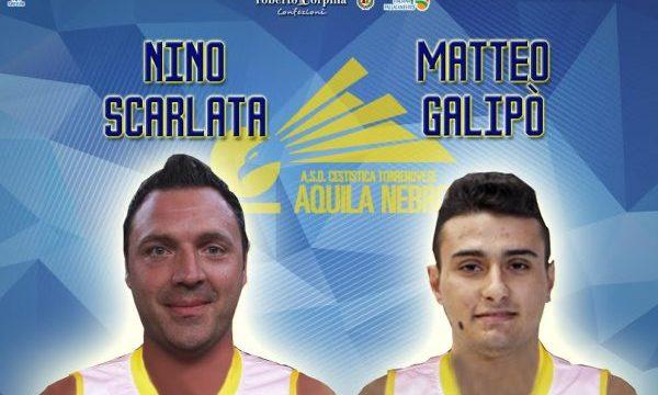 Doppio colpo Cestistica, firmati Nino Scarlata e Matteo Galipò