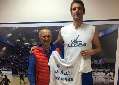 Un assist per la vita: Orlandina Basket a sostegno dell'ADMO
