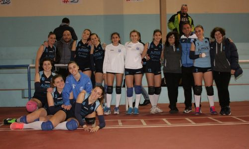 La Saracena Volley vince soffrendo con il Nebrodi Volley