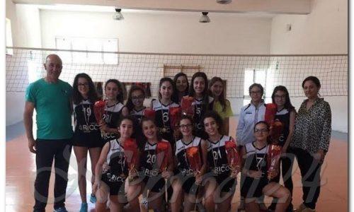 Brolo Volley – Le ragazze dell'Istituto Comprensivo, campionesse provinciali di Pallavolo
