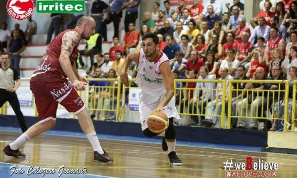 Basket – Festa rinviata per la Costa d'Orlando, Nardò vince 62-68
