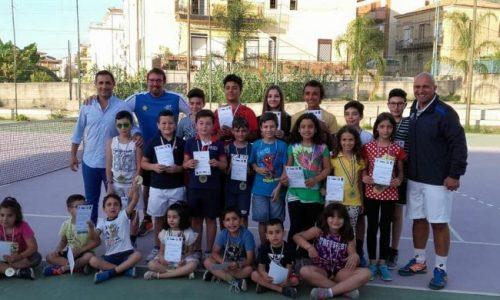 """Torrenova – Concluso il progetto """"Coni Ragazzi Tennis"""""""