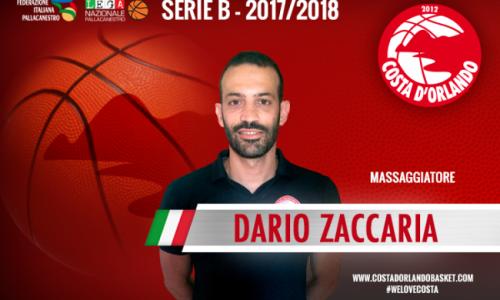 Dario Zaccaria sarà il massaggiatore dell'Irritec Costa d'Orlando
