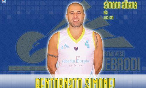 Torrenova – Simone Albana rinnova con la Cestistica!