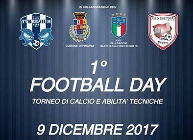 Gliaca di Piraino – 1° Fottball Day (Torneo di calcio e abilità tecniche)