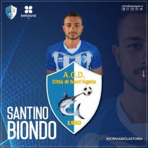 """Eccellenza – La prossima stagione il S.Agata sarà più """"Biondo""""."""