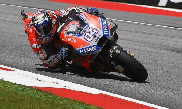 MotoGp – Il Gran Premio d'Austria si tinge ancora per la terza volta consecutiva di rosso Ducati
