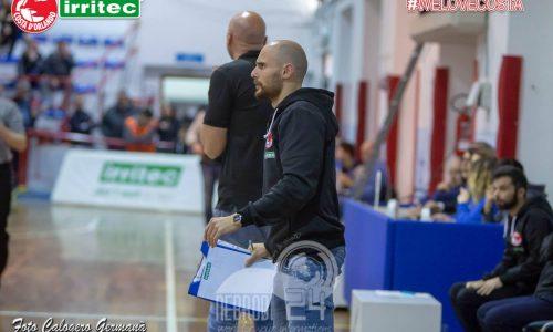 Canestro – Proseguirà per altre due stagioni il rapporto tra l'Irritec Costa d'Orlando e coach Guido Vittorio