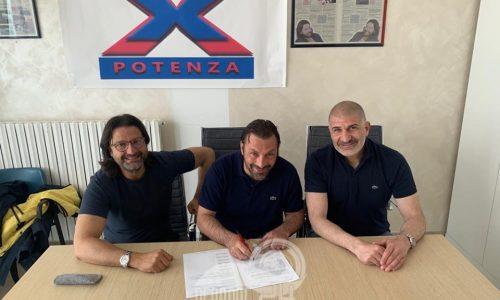 Calcio – Peppe Raffaele confermato con il Potenza fino al 2021