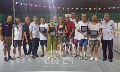Brolo – Circolo Tennis: i vincitori dei Campionati Siciliani Veterani