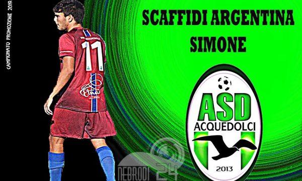 Promozione – Simone Scaffidi Argentina è un giocatore dell'Asd Acquedolci