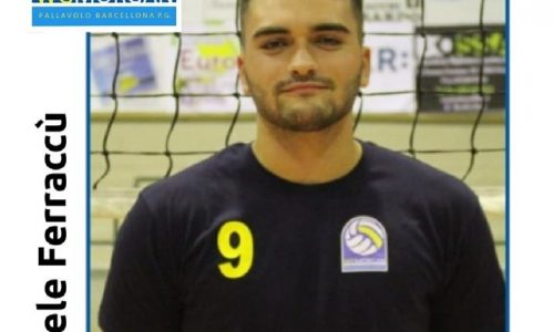 Volley – Il brolese Michele Ferraccù, firma con La Pallavolo W.G. Morgan Barcellona