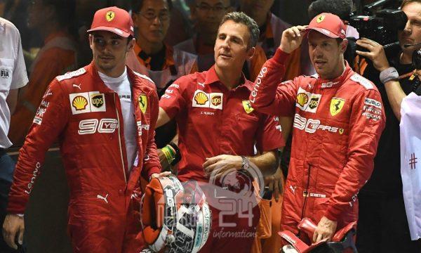 Doppietta Ferrari a Singapore. Vettel ritorna alla vittoria.