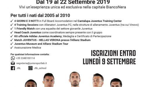 Brolo – La scuola calcio JSL presenta Juventus Training Experience