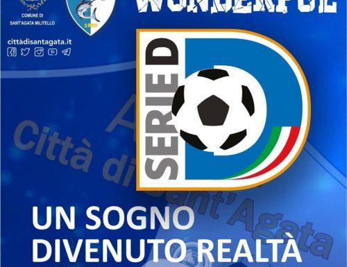 Ufficializzata la promozione in serie D del Città di S. Agata Calcio