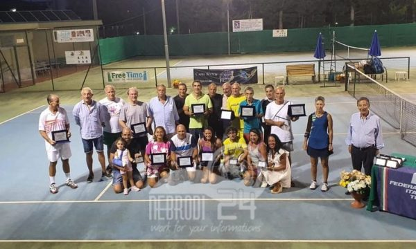 Circolo Tennis Brolo – I Campionati Siciliani Veterani, ben 137 i partecipanti provenienti da tutta la Sicilia