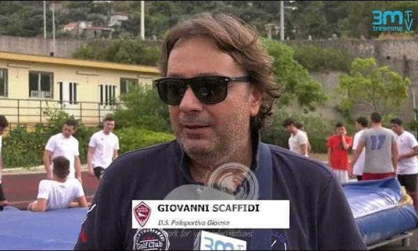 Polisportiva Gioiosa – I saluti al Direttore SportivoGiovanni Scaffidi