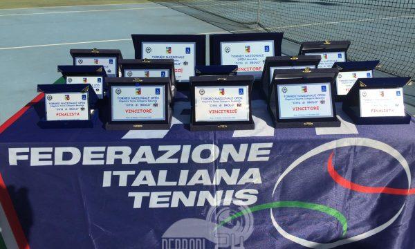 "Tennis – TORNEO NAZIONALE OPEN ""Città di Brolo"" Maschile & Femminile"
