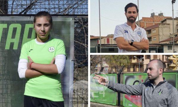 Brolo – Alla Jsl  dal Real Gela, la 15enne Jacqueline Bilardi che sogna il grande calcio