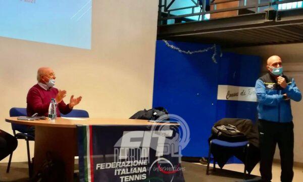 """Brolo – Circolo Tennis: alla sala """"Rita Atria"""", un incontro del Comitato Regionale Siciliano della Federazione Italiana Tennis"""