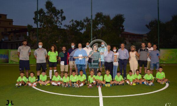 Brolo – L'inaugurazione del nuovo Campetto di Calcio a 5 JSL