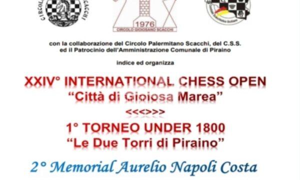 """Scacchi: si svolgerà a Calanovella il XXIV° Festival Internazionale """"Città di Gioiosa Marea"""" –"""